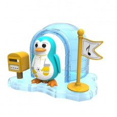 DigiPenguins z igloo Peyton błękitny S88344/42 OU
